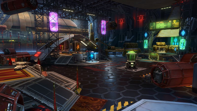 SWTOR Imperial Bounty Hunter Event Hangar