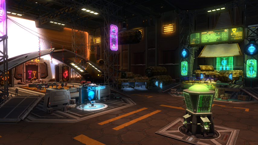 swtor cartel bazaar bounty contract terminal